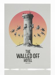The Walled Off Hotel Postcards