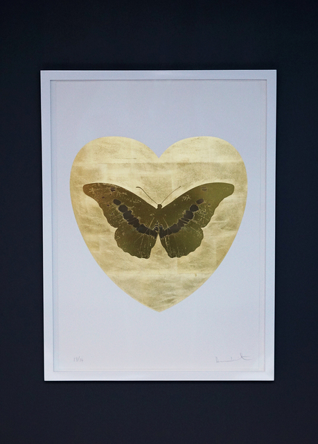 Damien Hirst, 'Butterfly, Gold/Gold', 2015, Arton Contemporary