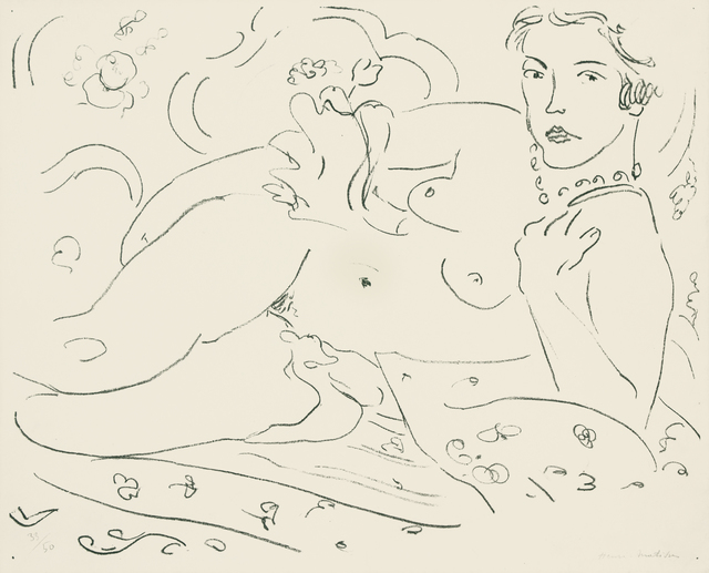 Henri Matisse, 'Nu, main gauche pres de l'epaule, 33/50', 1926, Findlay Galleries