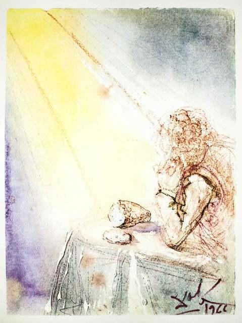 "Salvador Dalí, 'Illustration from ""Pater Noster""', 1966, Wallector"