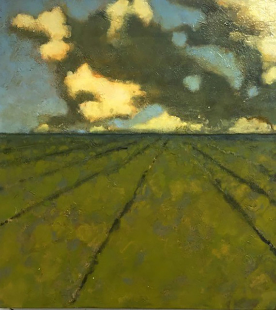 , 'Field Near Germantown,' 2016, Carrie Haddad Gallery