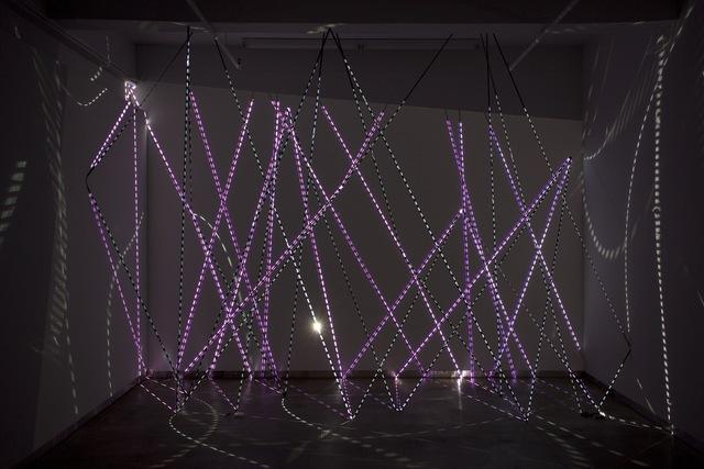 , 'Tracks,' 2009, bitforms gallery