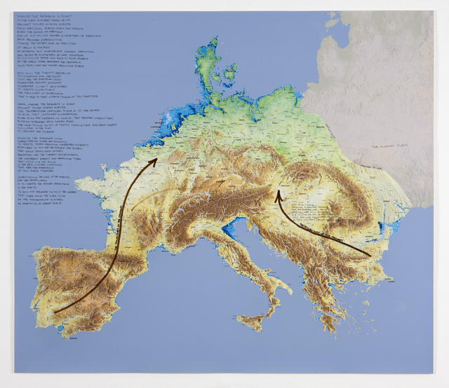 , 'Force Majeur Variation: Peninsula Europe,' 2011, Ronald Feldman Gallery