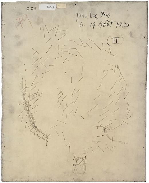 , 'Verso n°55, Visage aux deux profils, par Pablo Picasso, collection Musée national Picasso, Paris,' 2016, Modernism Inc.
