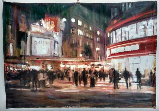 , 'Evening in London,' , Inn Gallery