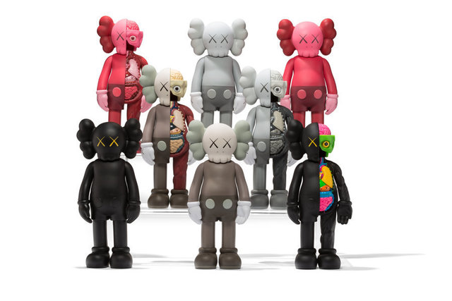 KAWS, 'Companion, set of eight', 2016, Heritage Auctions