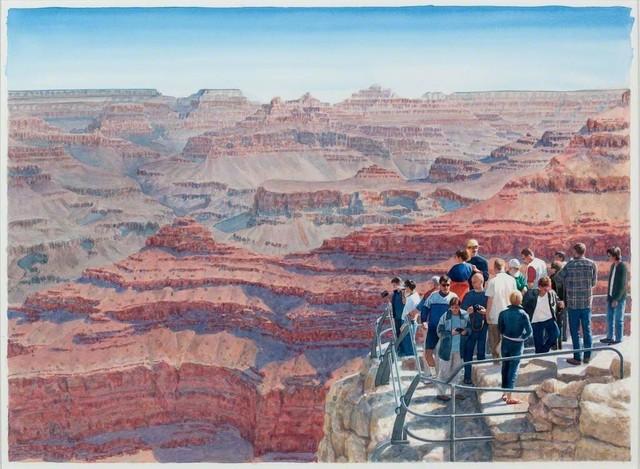 Tim Gardner, 'Tourists at Grand Canyon', 2012, 303 Gallery