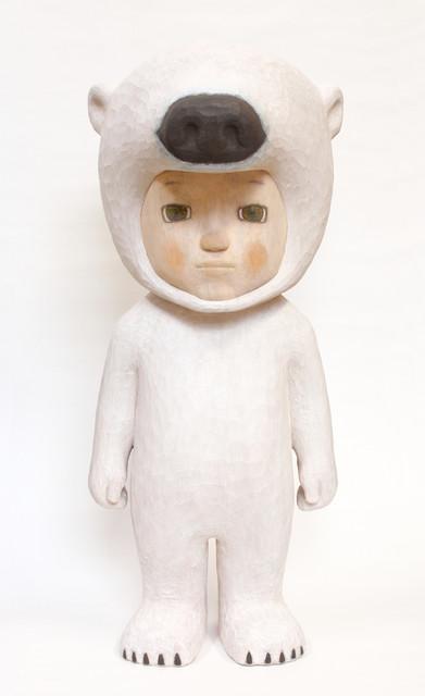 , 'White Bear,' 2019, Aki Gallery