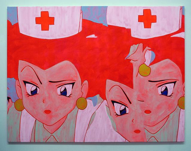 , 'Nurse Painting (Glitch 3),' 2016, Castor Gallery