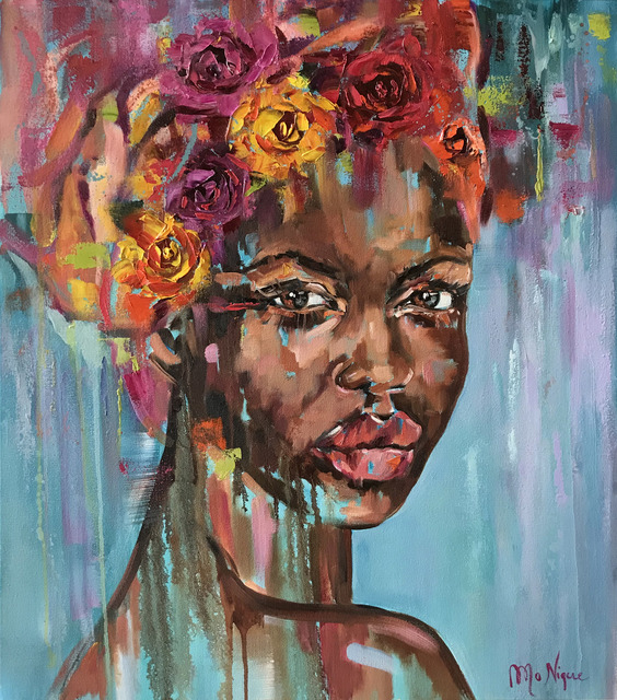 Mo Nique, 'African Rose', 2019, Opulent Living Gallery