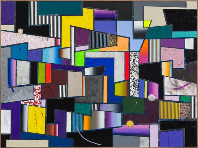 , 'Vibrations, vibrations, vibrations,' 2018, Hans Alf Gallery