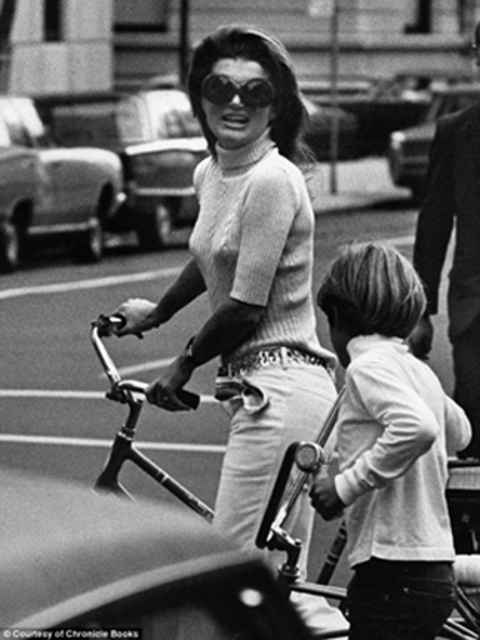 , 'Jackie Kennedy and John Kennedy, Jr., New York ,' 1969, Staley-Wise Gallery