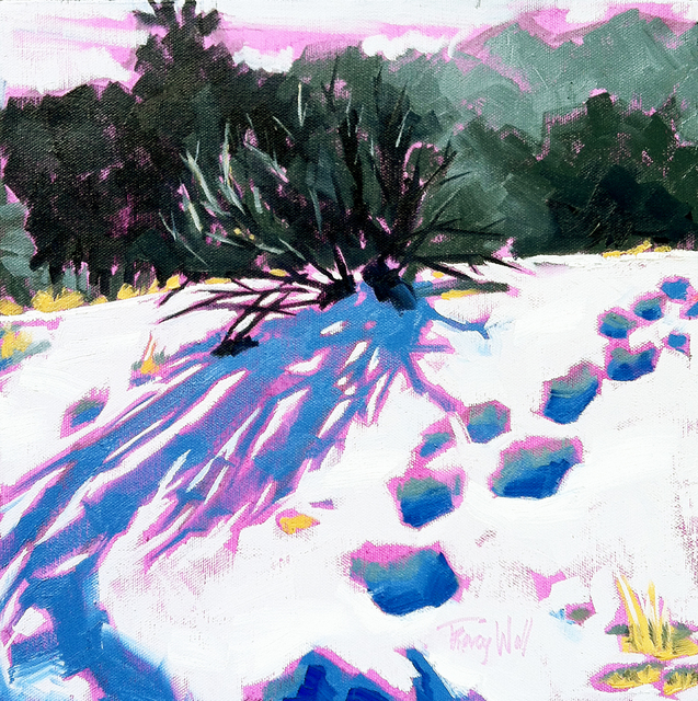 Tracy Wall, 'Fresh Tracks on Lookout Mtn.', 2015, Abend Gallery