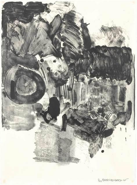 Robert Rauschenberg, 'VISITATION II (FOSTER 30)', 1965, Doyle