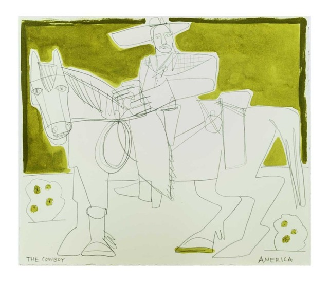 , 'Man and Horse,' 2019, Wally Workman Gallery