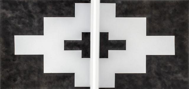 , 'Geometría Arqueológica Díptico (Mitla),' 2019, MAIA Contemporary