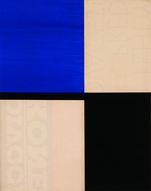 Robert Kelly, 'M.'s Chair XII', 2014, Berggruen Gallery