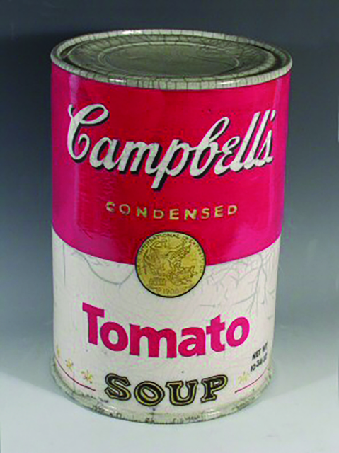 ", '""Campbell's Tomato Soup"",' 2016, Bonner David Galleries"