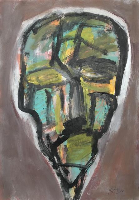 Rigo (José Rigoberto Rodriguez Camacho), 'Head No. 2', 2017, Thomas Nickles Project