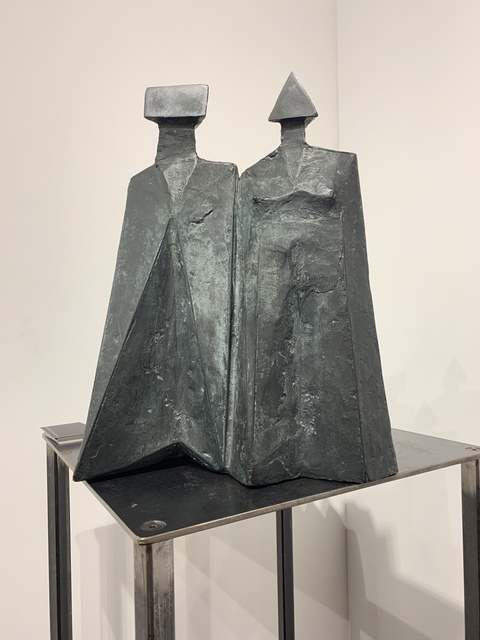 Lynn Chadwick, 'Standing Couple (798)', 1980, Tanya Baxter Contemporary