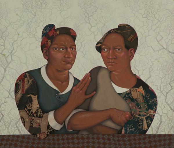 , 'Thorn Sisters,' 2014, Ruiz-Healy Art