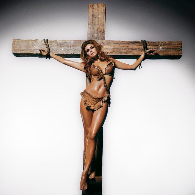 , 'Raquel Welch on the Cross,' 1970, Holden Luntz Gallery