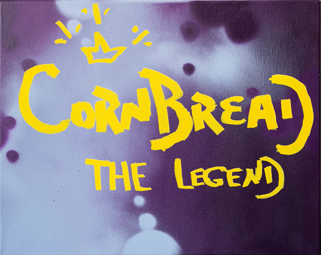 Cornbread, 'Cornbread The Legend Canvas', 2020, Painting, Acrylic paint on canvas, Paradigm Gallery + Studio