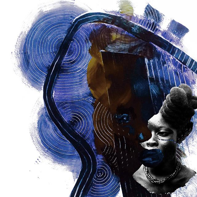 Nkechi Ebubedike, 'Bright Girls #3', TAFETA