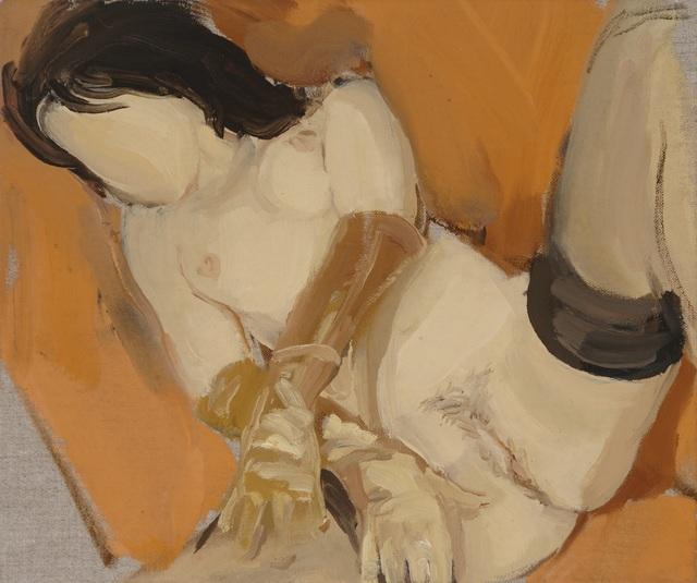 , 'Orange Sofa,' 2013, The FLAG Art Foundation