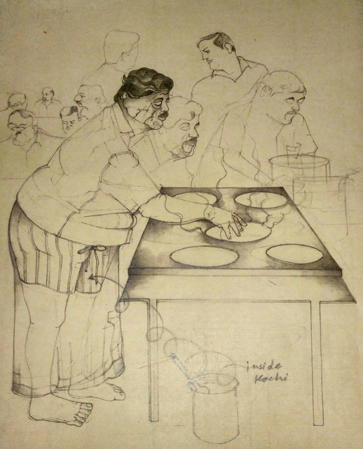 , 'Masala Dosa Making in Kochi,' 2018, 1x1 Art Gallery