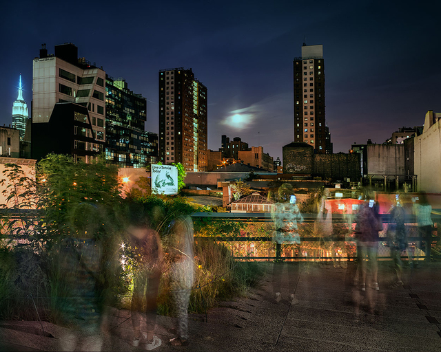 , 'Super Moon on the High Line,' 2015, Benrubi Gallery