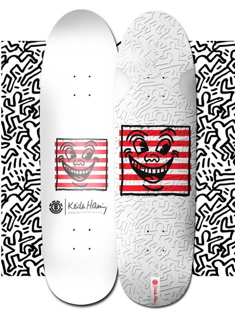 Keith Haring, 'Keith Haring Skateboard Deck (Keith Haring three eyed face)', 2018, Lot 180