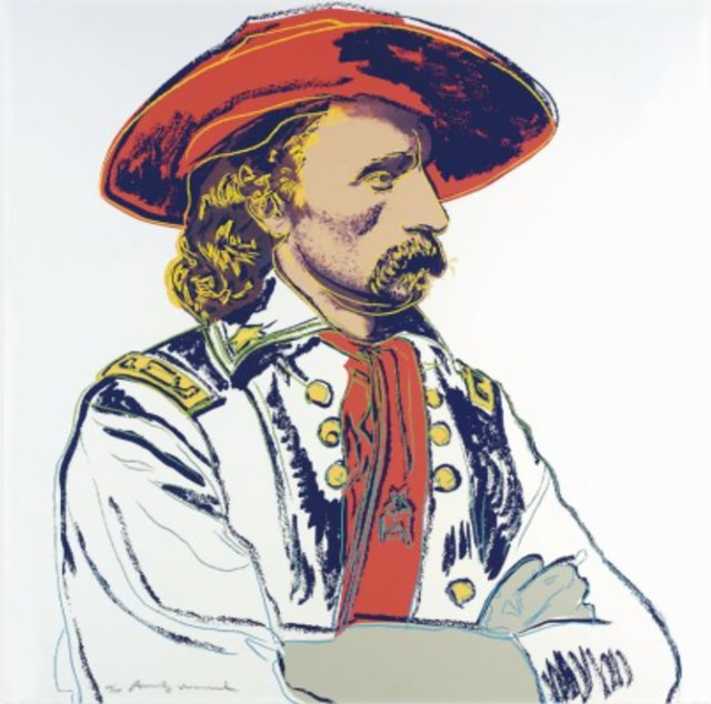 Andy Warhol, 'General Custer (F. &.S. II.379) ', 1986, Drawing, Collage or other Work on Paper, Screen print in colours on Lenox Museum board, Andipa