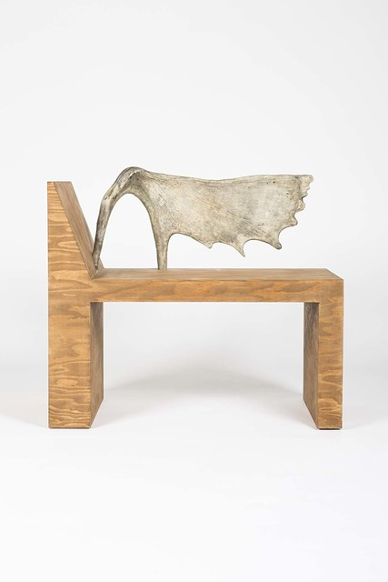 , 'Tomb stag chair (left),' 2013, Ratio 3