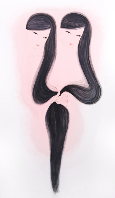 Lia Menna Barreto, 'Hinata e Mariko', 2018, Bolsa de Arte