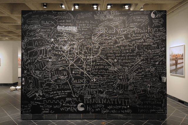 , 'Blackboard,' 2011, Cantor Fitzgerald Gallery, Haverford College