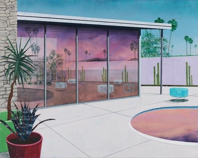 Erik Parra, 'Externality Study vii', 2020, Painting, Acrylic on canvas, Eleanor Harwood Gallery