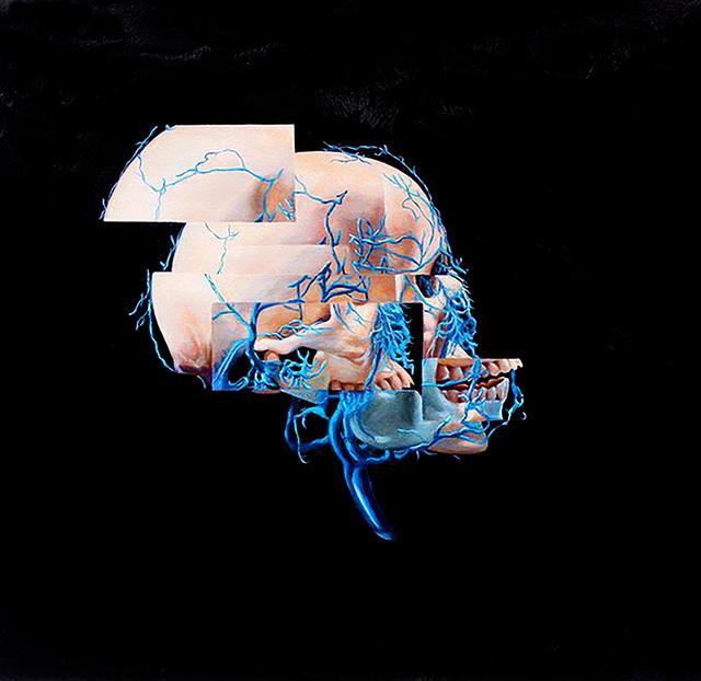 , 'Disorder 1,' 2016, Lazinc
