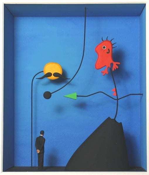 Volker Kühn, 'Homage to Joan Miro', ca. 2021, Sculpture, Mixed media, Plus One Gallery