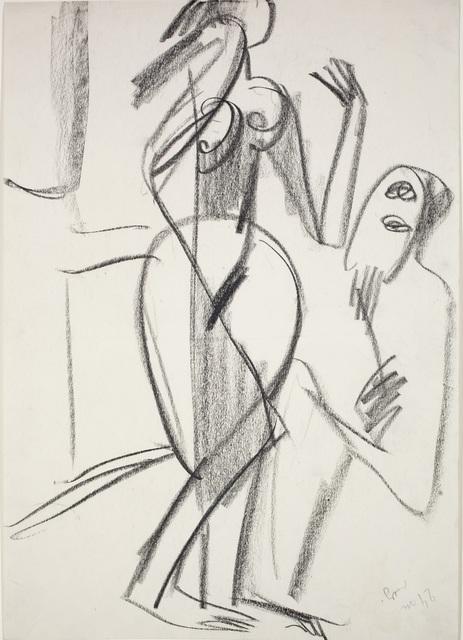 , 'Nackte Tänzerin und Zuschauer,' 1929, Henze & Ketterer