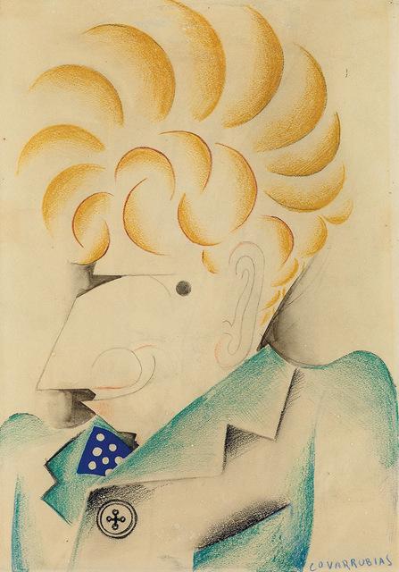 Miguel Covarrubias, 'Portrait of Alexander Brook', 1930, Forum Gallery