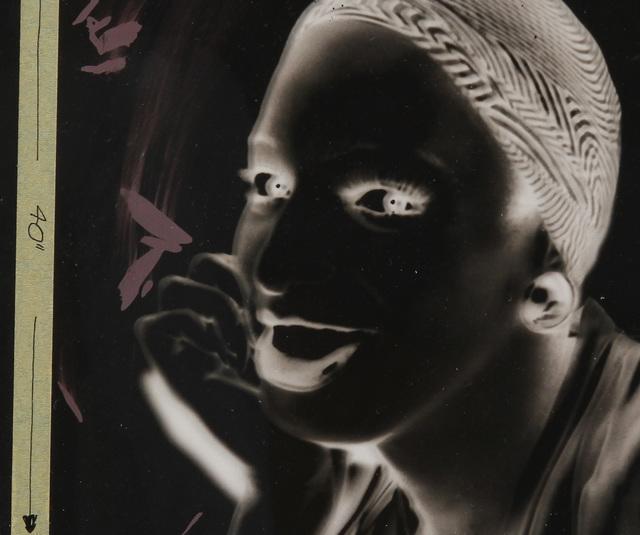 "Andy Warhol, 'Unique acetate from Ladies & gentlemen ""Wilhelmina Ross"".', ca. 1975, Ephemera or Merchandise, Acetate, MultiplesInc Projects"