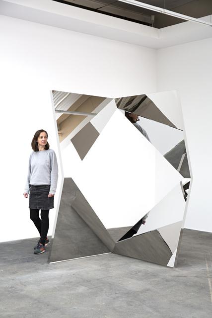 , 'Twisted Geometric Mirrors I,' 2016, KÖNIG GALERIE