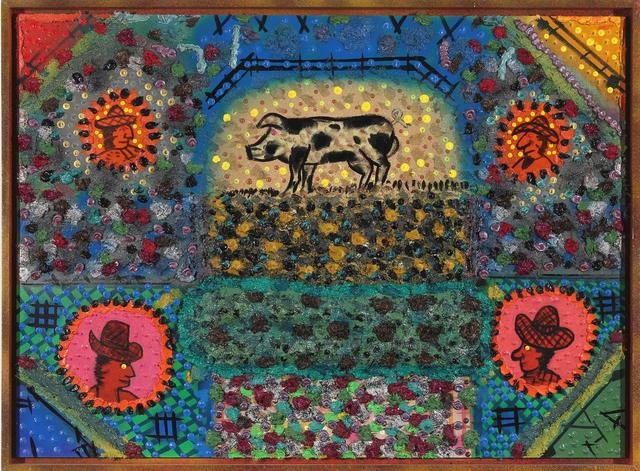 Roy De Forest, 'Pig Farm', 2000, Brian Gross Fine Art