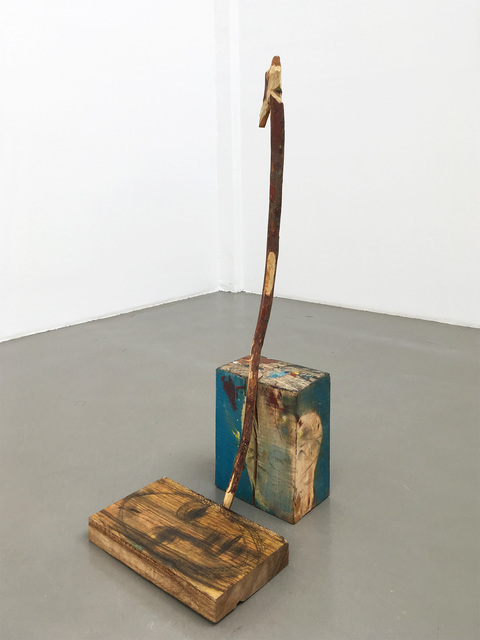 , 'Untitled (Walking Stick, Cube and Plake),' 2018, Barbara Thumm