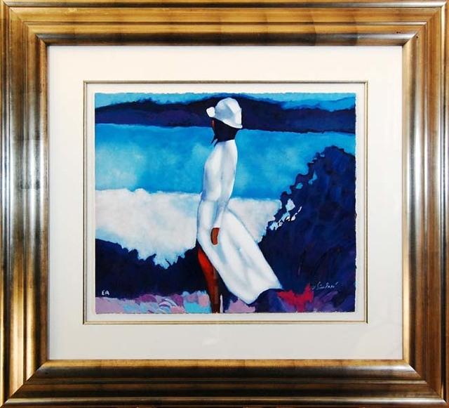 , 'White Dress,' 1990, Baterbys Art Gallery
