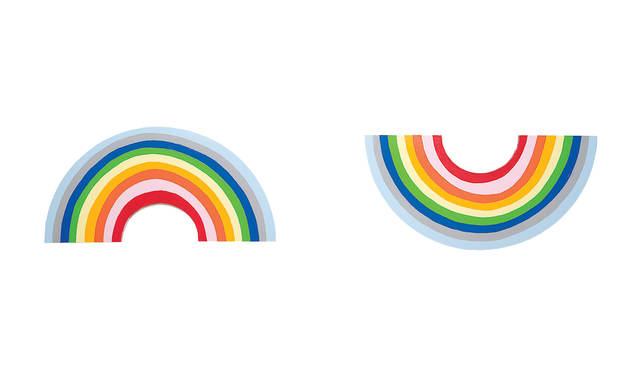 , 'Sad Rainbow, Happy Rainbow,' 2007, Contemporary Jewish Museum
