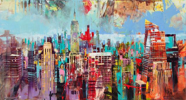 , 'NYC 05,' 2019, ArtCatto