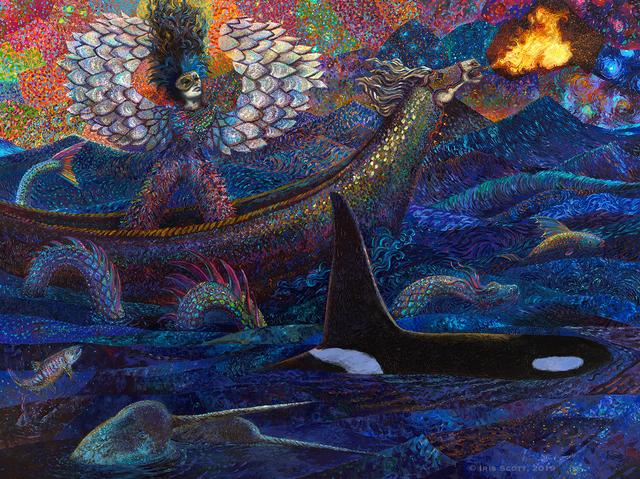 Iris Scott, 'Exodus of Pisces', 2019, Filo Sofi Arts