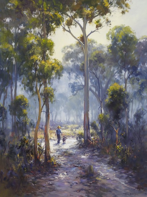 Ted Lewis, 'Morning walk', 2014, Wentworth Galleries